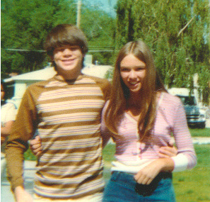 Jim and Cari 9th Grade 1974