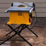 portable dewalt table saw