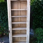 Repurposed Old Door Bookcase