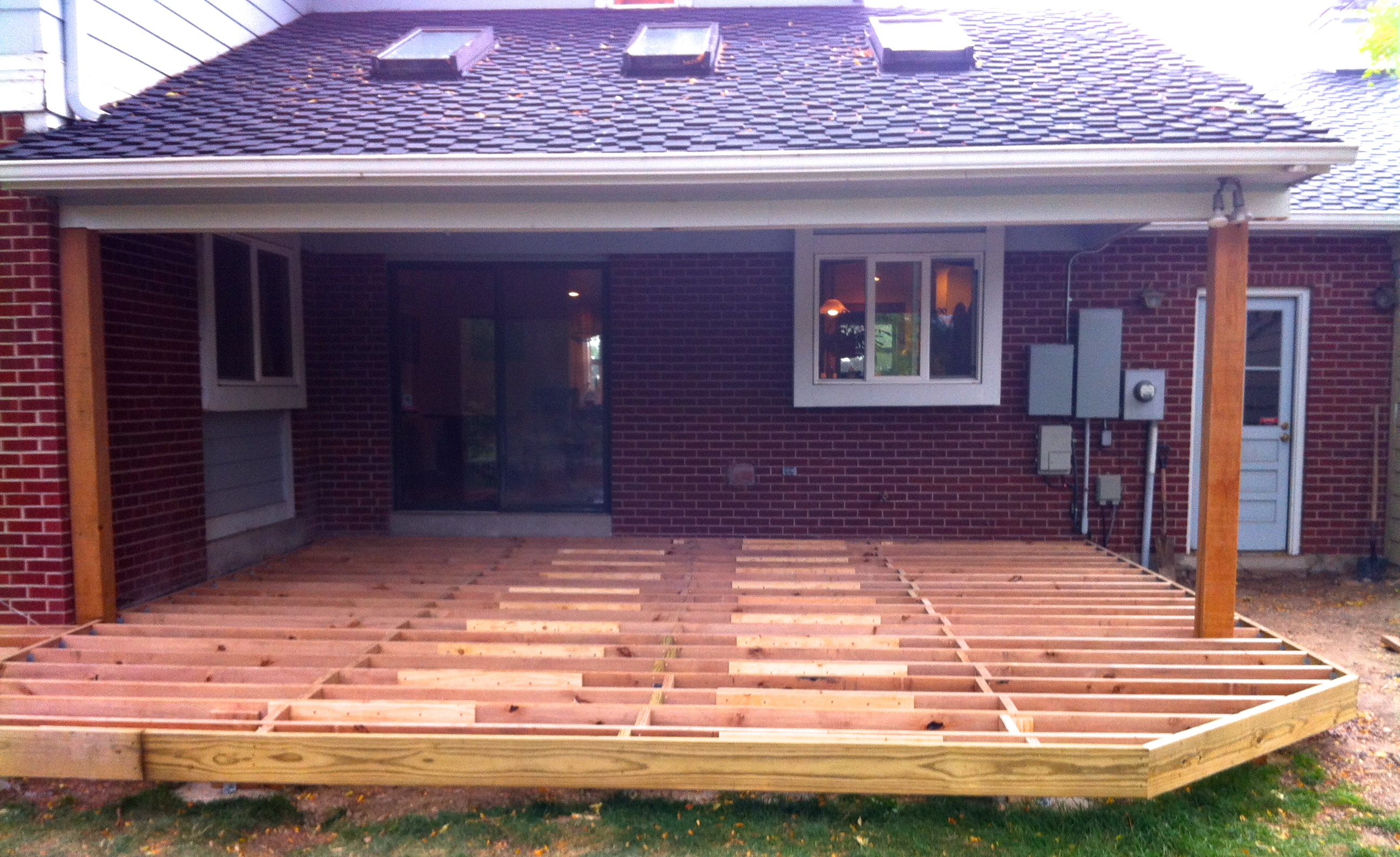 Building An 800 Square Feet Composite Deck Jim Cardon