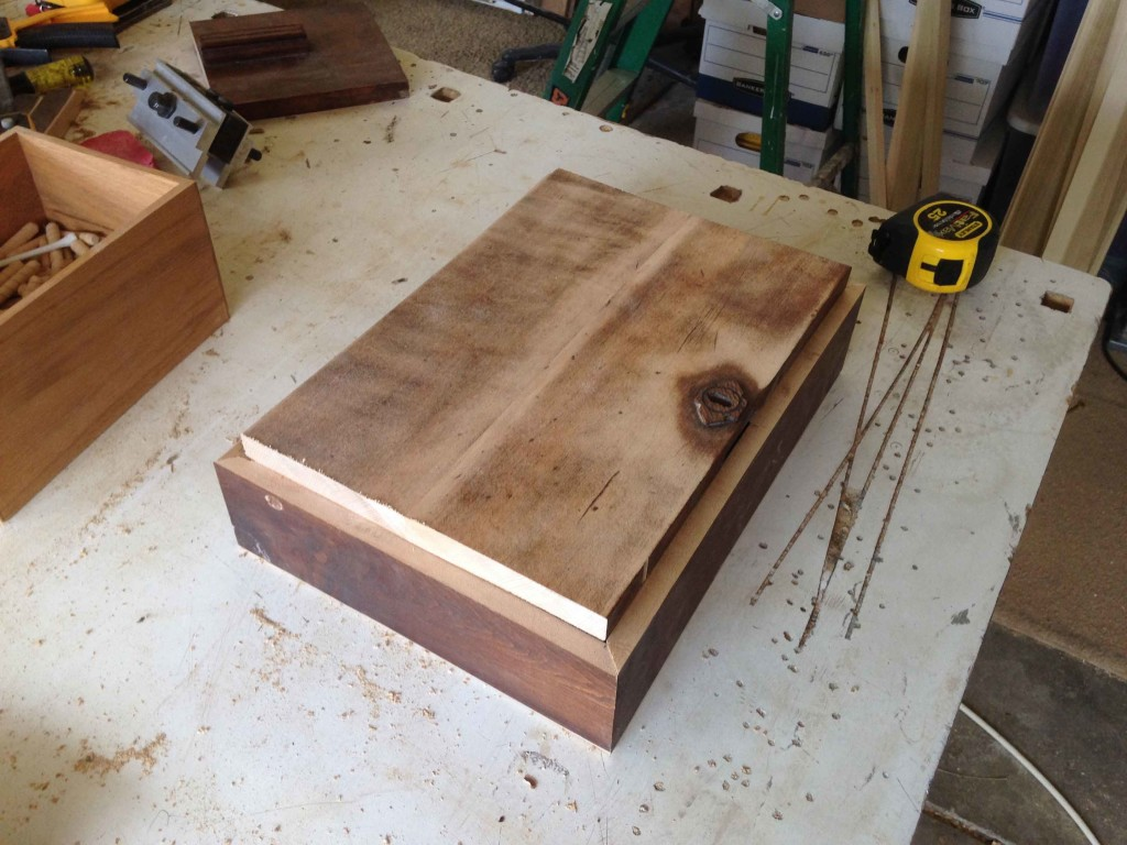 Fitting Top of Wooden Box