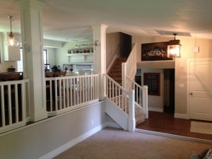 Hillan Home Remodel Railing and Stair Railing