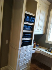 Jones Home Office Remodel With Component Cabinet