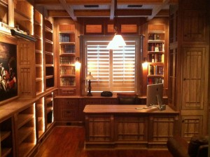 Doug Jr. Home Office Overall View Walnut