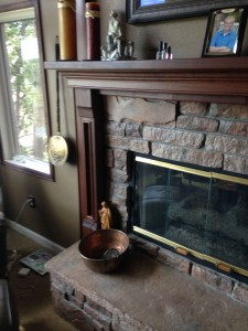 Holmes Fireplace Mantel Cherry